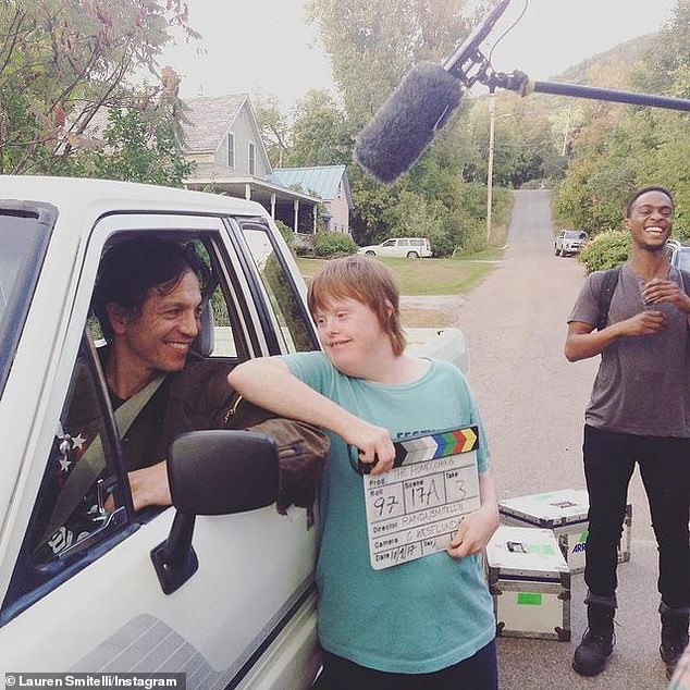 Action!  Best Summer Ever - featuring a cast and crew of people with and without disabilities - was also produced by Jamie Lee Curtis, Ted Danson, Mary Steenburgen and Amy Brenneman (pictured in 2017)