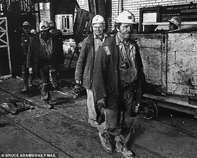 The people of Whitehaven, and the surrounding borough of Copeland, do not just live contentedly alongside the largest nuclear site in Europe, Sellafield. Pictured: Miners at the Haig Colliery in the 1960s