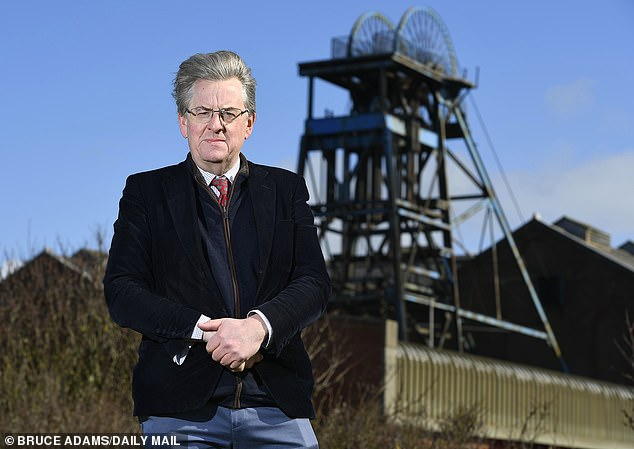 Robert Hardman (pictured): The proposed colliery is due to be built on open land right in front of a new housing development. So what do local people have to say?