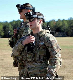 The Army has said that the headsets could be used for both training and in actual battle