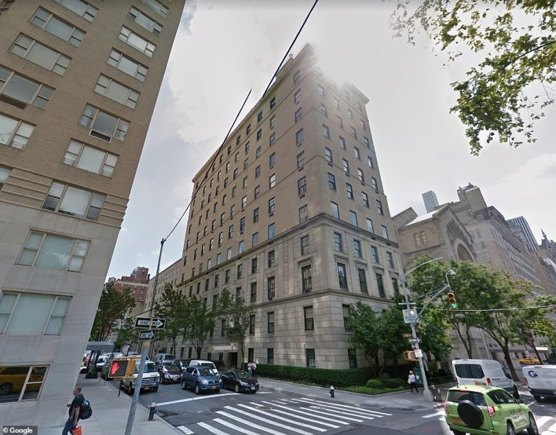 The building, designed by 'architectural luminary' James E. R. Carpenter, dates to 1920 and offers views of Central Park