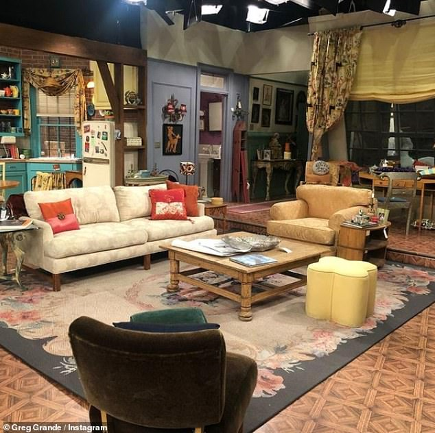 All back to Monica's? A new detail concerning the highly-anticipated and much-delayed Friends 'reunion' has been teased by the sitcom's original set designer