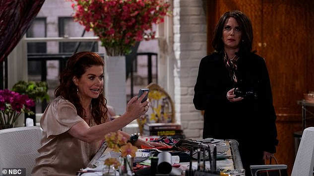Returning to screens: Sitcoms such as Will & Grace were revived in recent years to much fanfare