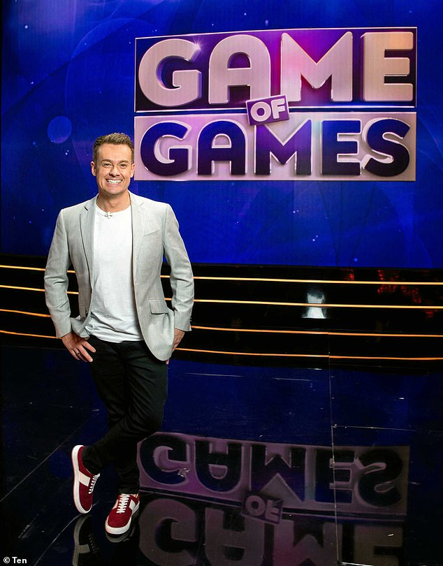 Low point: Game of Games, hosted by Grant Denyer, was another notable flop for Channel 10