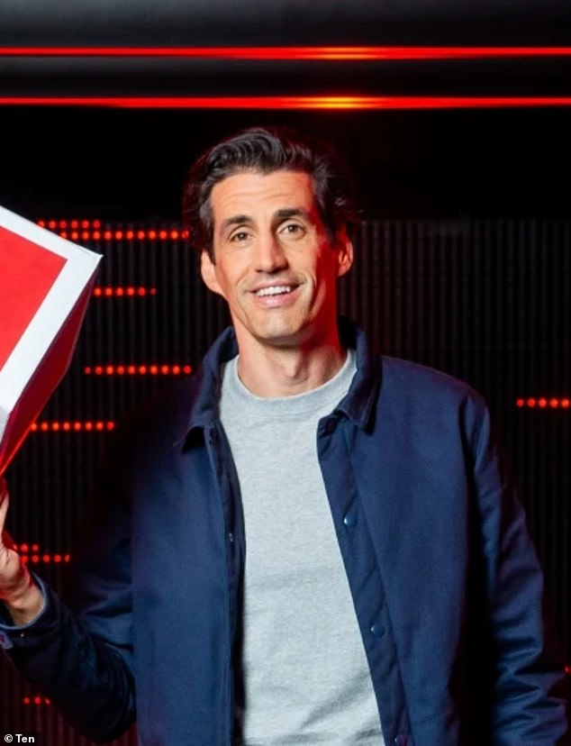 Underwhelming: Meanwhile, new offerings like game show The Cube, hosted by Andy Lee, have underperformed, barely cracking the top 20 on Wednesday