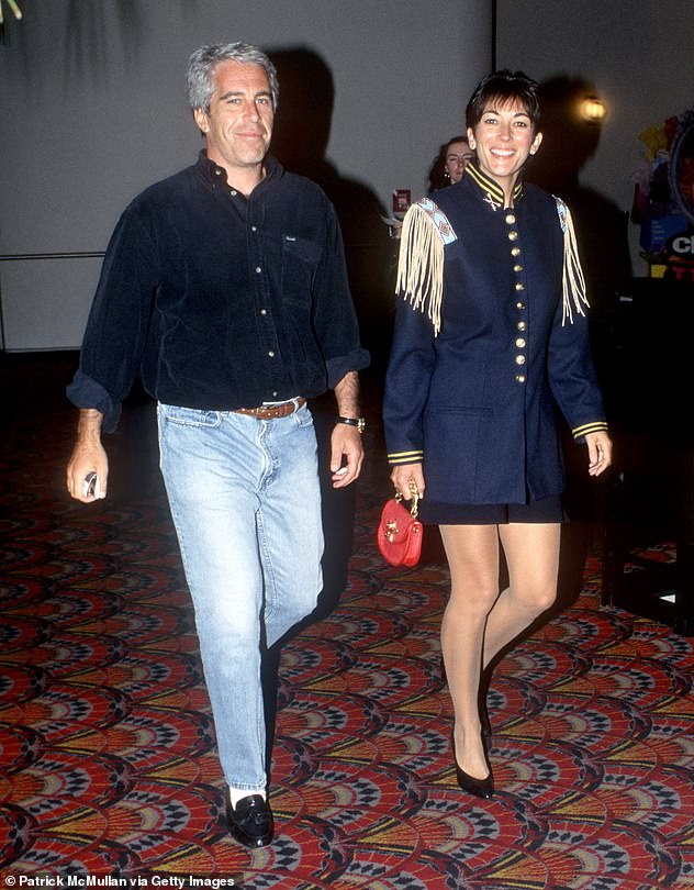 Ghislaine Maxwell has fired back about her updated indictment and called it a 'shocking, unfair abuse of power' because it comes so close to her trial. Epstein and Maxwell, his right-hand woman, are seen together in June 1995 in New York City