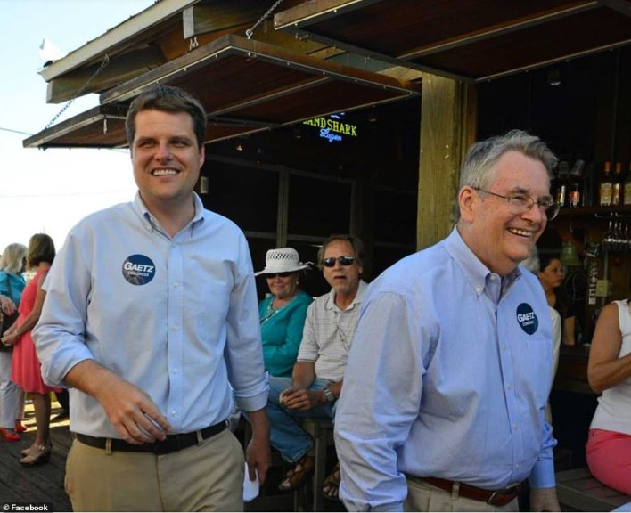 Gaetz and his father Don Gaetz. Don served as a member of the Florida State Senate from 2006 to 2016