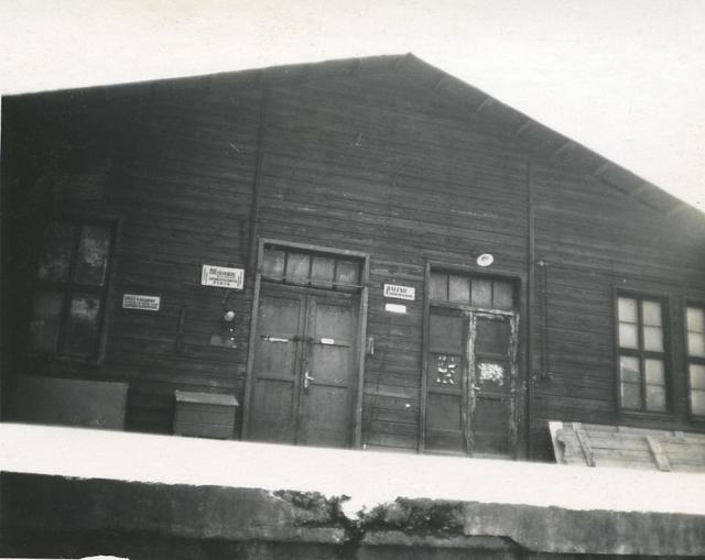 Photos from wartime show the rear doors to the social club.In the less than three years it was open, the club hosted diversions such as cabarets, sketches, orchestral concerts and boxing matches. There was even horse riding and horse-drawn carriages organised for children in front of the building.