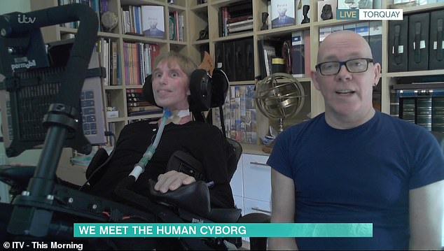 Appearing on This Morning today with partner Francis, 65, Peter said that after fully transitioning to 'part human, part machine' in 2019 hisquality of life is 'exceptional'