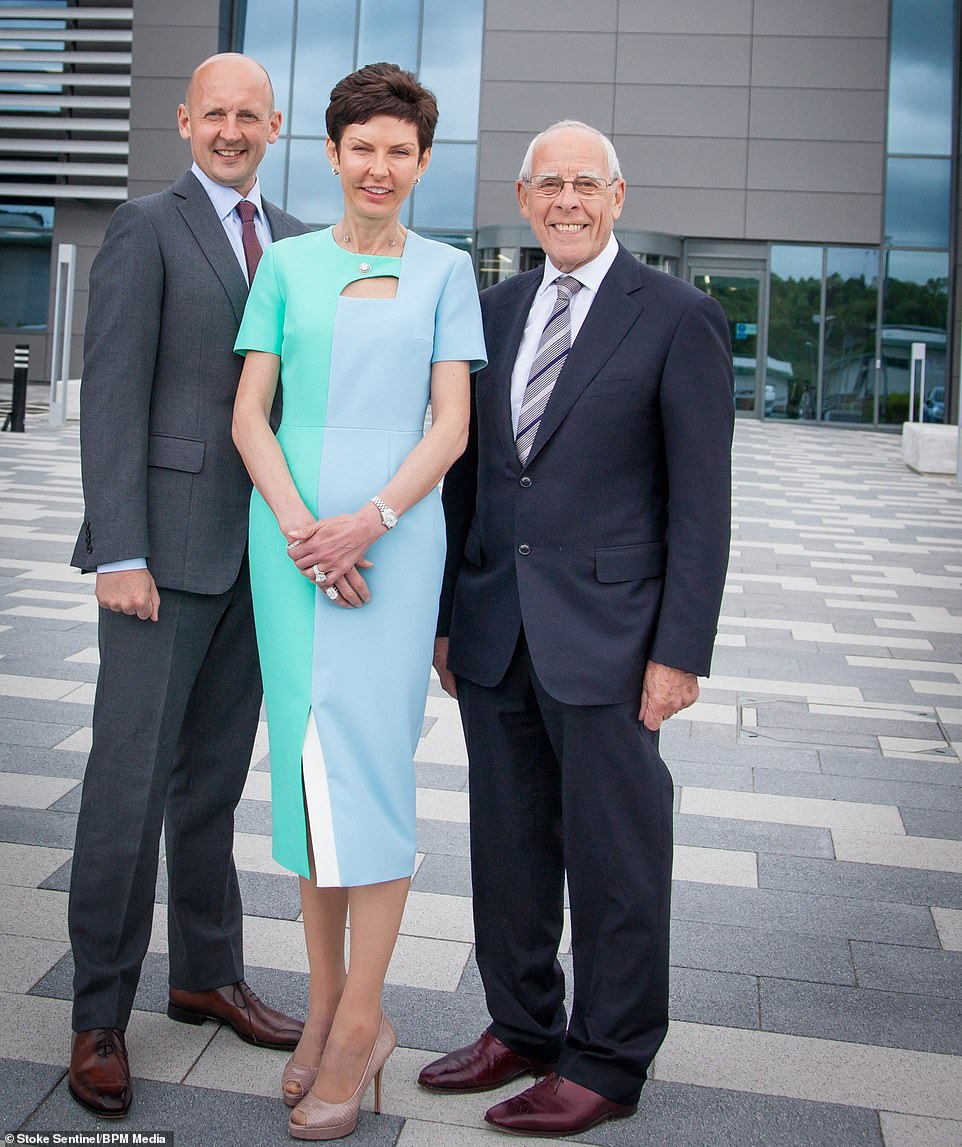 John, Denise and Peter Coates of Bet365, which has handed out £607 million to managers