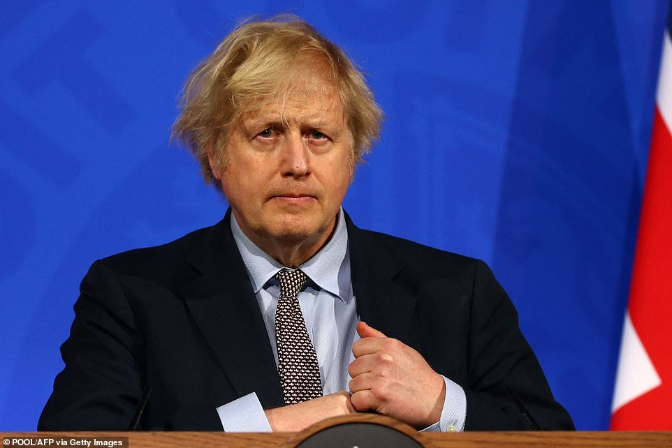 Hospitals, GP surgeries and supermarkets could be excluded from any Covid vaccine passport scheme, according to reports, as Boris Johnson prepares to announce more details of on Monday