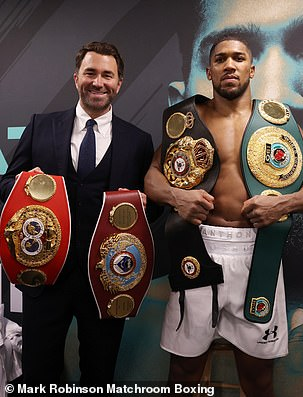 Eddie Hearn and Anthony Joshua have both been subjected to Fury's mind games