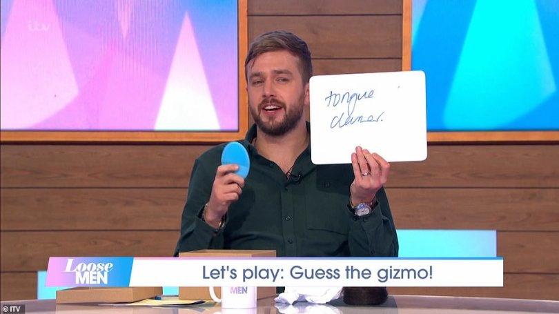 Ring: Eagle-eyed fans spotted Iain wearing a wedding ring when he appeared on the special Loose Men episode of ITV's Loose Women in November