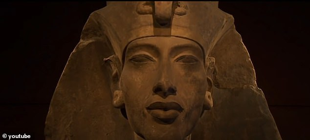 The father of infamous Tutankhamen will also make the 40-minute journey.Pharaoh Akhenaten who ruled from 1353BC to 1335 BC, is revered as one of ancient Egypt's most hated kings