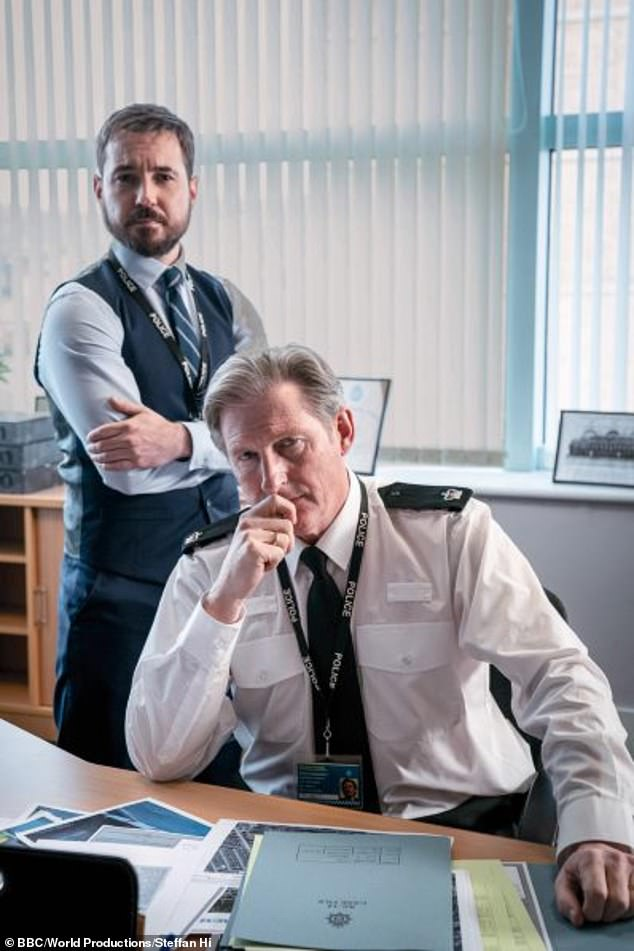 Join us:The super-popular BBC cop drama - which returned to screens last month for its sixth series - follows AC-12, a fictional department investigating internal police corruption