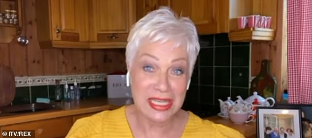 Next steps:Denise Welch, 62, has given an update on her beloved dad Vin who recently suffered a fall at home