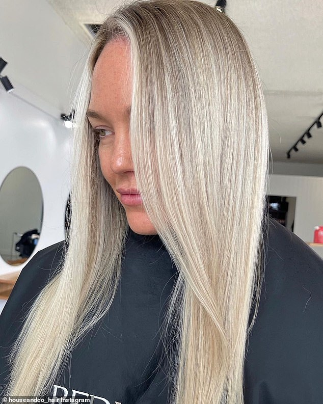 Bombshell: Married At First Sight's Melissa Rawson has debuted a bombshell makeover following a recent trip to the hair salon