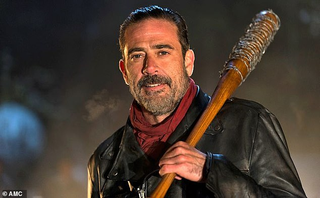 Fan favorite: Morgan went on to take on the role of Negan in the long-running horror drama series The Walking Dead, where he became a regular on the show.