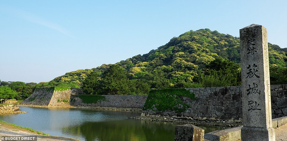 Hagi Castle was built by the Mori Samurai, with the permission of the Tokugawa Shogunate, who had triumphed over them in the Battle of Sekigahara
