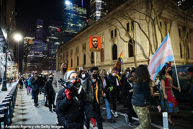 Protests have gripped New York City since the murder of George Floyd last year