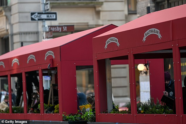 Balthazar only recently reopened after closing due to the coronavirus pandemic