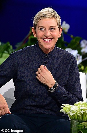 Schwimmer replied: 'It's not Ellen, it's not Billy Crystal. I could tell you who it's not'