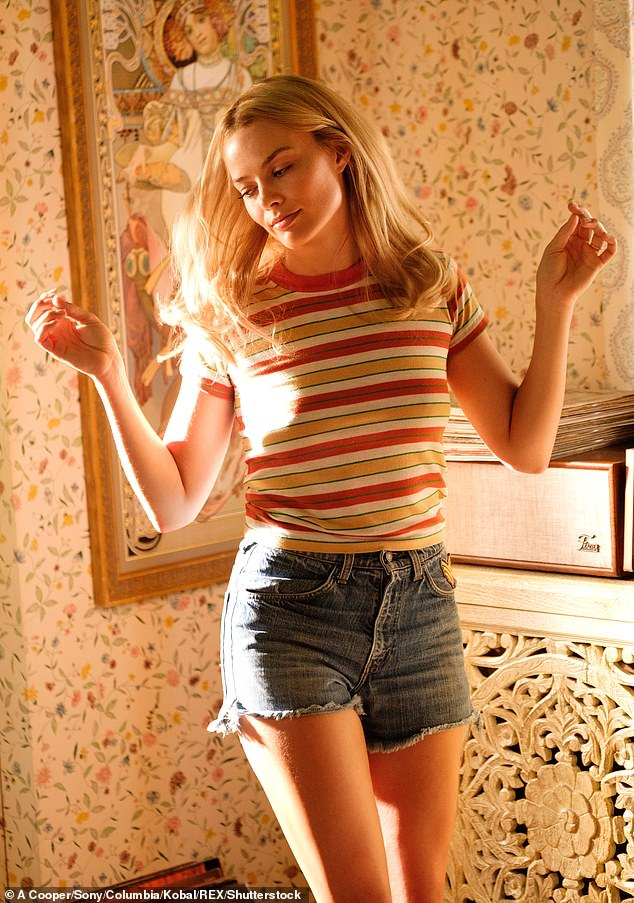 Impressive:Margot recently revealed that there's a '20-hout cut' of her Quentin Tarantino film Once Upon A Time... In Hollywood