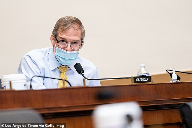 Publicly, just two of 211 congressional Republicans have said they stand by Gaetz. They are Marjorie Taylor Greene and Jim Jordan (above), both of whom have been plagued by their own scandals
