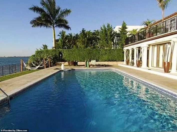 The home sits along the waterfront but also comes complete with a decent sized swimming pool as well
