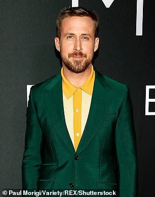 Pictured: Ryan Gosling pictured in 2018