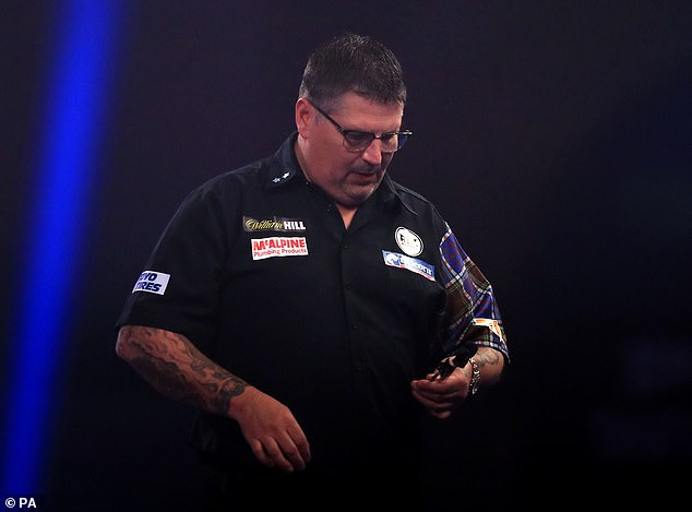 The likes of Gary Anderson (above) and Peter Wright will not take part due to their PDC deals