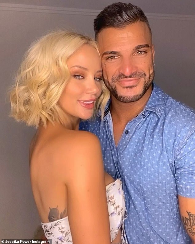 It's over! Married At First Sight's Jessika Power, 29, (left) has announced she has SPLIT with her rapper boyfriend Filip Poznanovic (right) on Saturday after just three months together