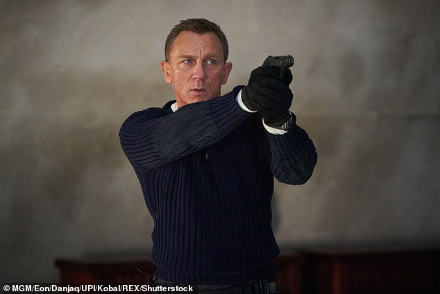007?In January, the actor was the bookies favourites to take on 007 after he hinted he could be a good contender to succeed Daniel Craig (pictured inNo Time To Die)