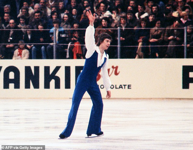 The fact-finding investigation was launched in February 2020 after 10-time French skating champion Sarah Abitbol claimed in a book that she was raped by coach Gilles Beyer (pictured in 1978) from 1990-92, when she was a teenager
