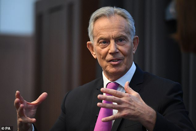 Sources say former Labour PM Tony Blair is beginning to lose patience as the party slips behind in the polls