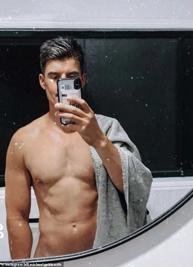 Cashing in! The Bachelorette star Bill Goldsmith, 34, (pictured) becomes the latest reality star to join OnlyFans