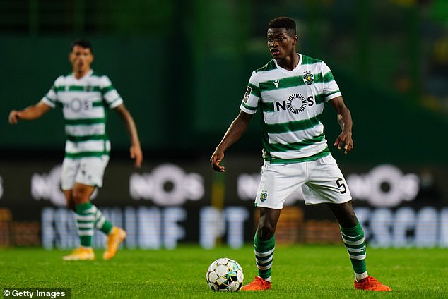 18-year-old Mendes has been mightily impressive this season for Lisbon in the Primiera Liga