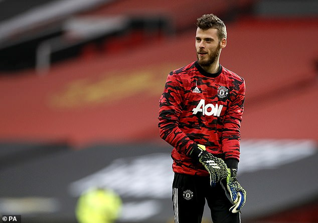 Henderson is the future for Manchester United, while de Gea (pictured), now 30, is not