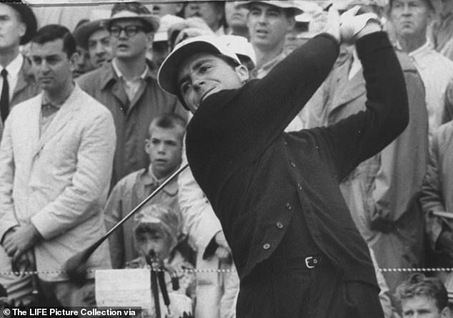 Player won nine major championships, both on the regular tour and on the Champions Tour