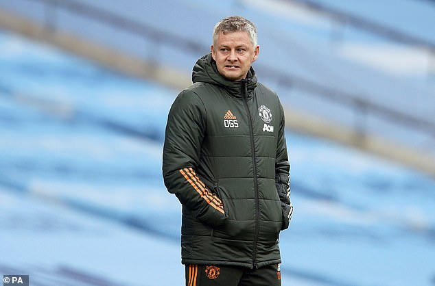Ole Gunnar Solskjaer was victim of a bizarre incident with an overexcited fan in Manchester