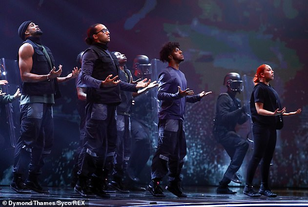 Routine:At the time, Ofcom announced they would not investigate the complaints any further, while ITV 'stood with Diversity' after they featured adverts in national newspapers in support of the dance