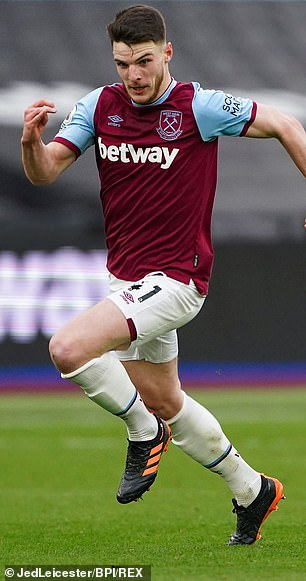 Declan Rice is integral to the Hammers' midfield