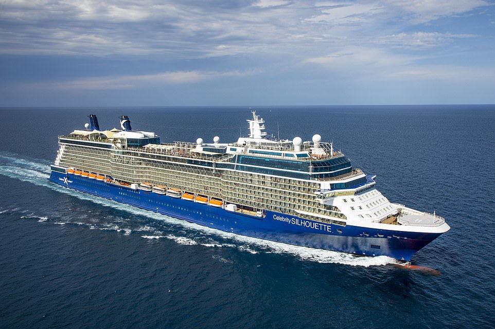 Revamped resort ship Celebrity Silhouette by Celebrity Cruises. It will be sailingsix to eight-night UK cruises from July 3
