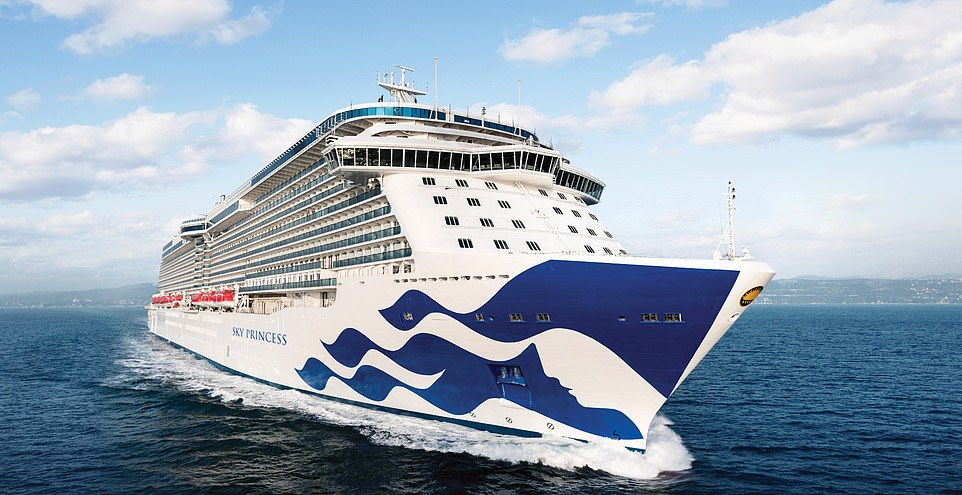 Princess Cruises is offering a variety of UK itineraries on its ships Regal Princess and Sky Princess, pictured