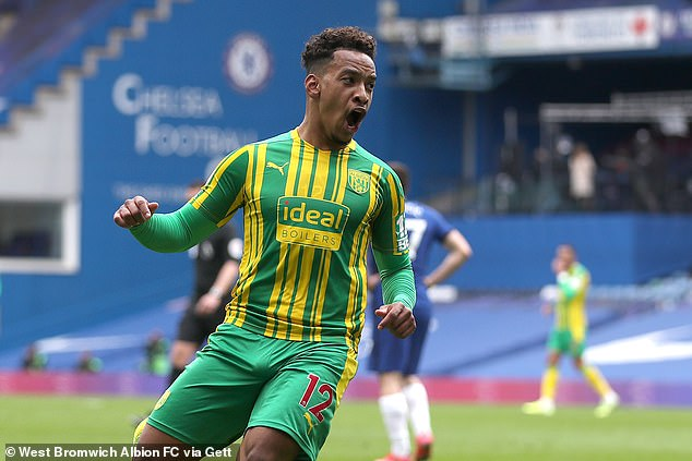 Callum Robinson scored twice in West Brom's shock 5-2 victory over Chelsea on Saturday