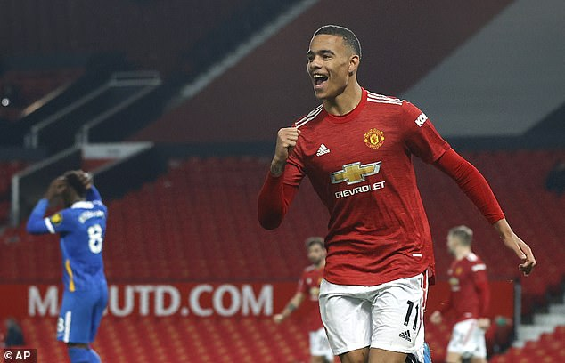 Mason Greenwood's winner was his first goal in the Premier League at Old Trafford since July