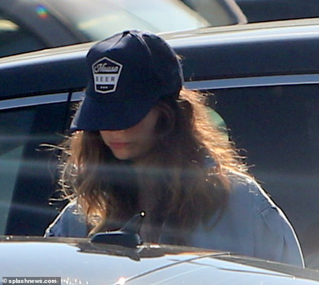 Low-key:Lily has kept a low-profile since she became the subject of worldwide scrutiny when images emerged showing her and actor Dominic West on a jaunt in Rome