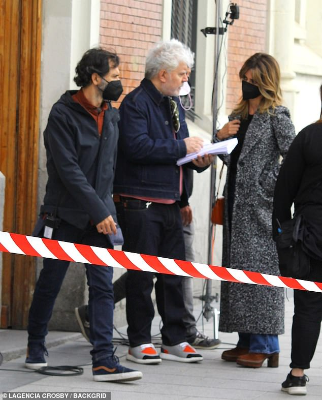 Two's company:The 46-year-old actress has teamed up with Pedro Almodóvar again for the drama. Theypreviously worked together on All About My Mother, Volver and Pain & Glory