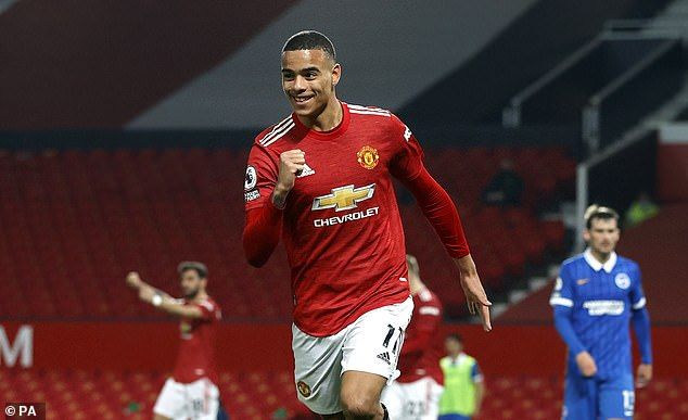 Mason Greenwood steered in a late header to secure United a last-gasp victory at Old Trafford