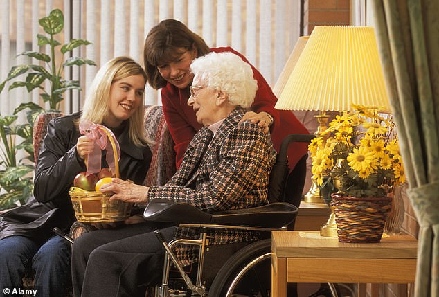 New care home rules will allow residents to have two visitors, rather than just one. Babies and toddlers under the age of two will also be allowed to see their relatives